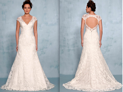 Two Romantic V Neck HITCHED! Bridal Hong Kong Wedding Gowns You Need ...