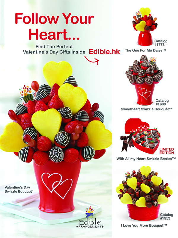 fresh and edible valentine's day gifts at edible arrangements, Ideas